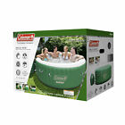 Coleman Outdoor Relax Lay Z Massage Spa Portable Pool Yard Hot Tub 4 to 6 People