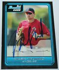 Mark Trumbo signed 2006 Bowman Rookie card auto