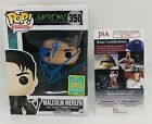 JOHN BARROWMAN SIGNED MALCOLM MERLYN FUNKO POP FIGURE ARROW SDCC EXCLUSIVE COA