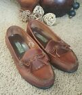 Leather Collection Wide Width Womens Shoes sz 7W Slip On Moccasin L