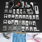 52PCS Sewing Machine Presser Foot Feet Tool Kit Set For Brother Singer Domestic