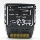Hot 20A 12V Solar Panel Charge Controller Battery Regulator Safe Protection