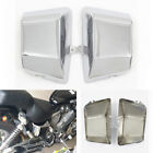 Battery Side Fairing Cover Chrome Steel Metal for Yamaha Virago XV535 XV400