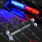 COB Red Blue Light Emergency Car Vehicle Warning Strobe Flash Brighter than LED