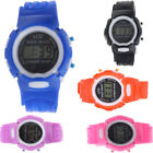 Boys Girls Students Sport Watch Electronic Digital LCD Wrist Watch Gift Cheap