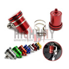 New Motorcycle Rear Brake Master Cylinder Fluid Reservoir Clutch Tank Oil Cup OK
