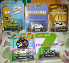 2014 Hot Wheels 5pc Complete Set of Retro Entertainment Vehicles The Simpsons