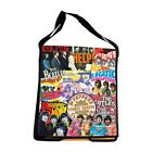 The Beatles Messenger Bag Album Covers Adjustable Strap Interior Pockets