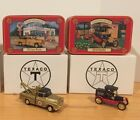 NEW Texaco Collectors Club Lot of 2 Die Cast, Ertl Co. #H895 / H896