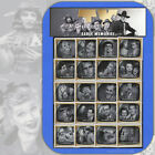 2009 EARLY TV MEMORIES Complete Set of 20 Individual Stamps w Header 4414 a t