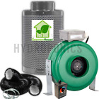 Active Air 4 6 8 Inch Inline Fan Carbon Filter Ducting Combo HPS Grow Tent