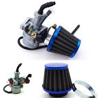1X 22mm Carburetor PZ22 Carb 38mm Air Filter For 110cc 125cc Engine Motorcycle