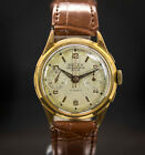 BWC Butex Vintage Chronograph Landeron 51 17Jewel Swiss Suisse Gold Plated Watch