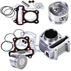 47mm Cylinder Piston Rings fit for GY6 50cc to 80cc 4 Stroke Scooter Moped ATV