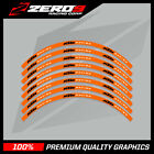 KTM EXC 125 250 450 MOTOCROSS RIM DECALS Graphics 21