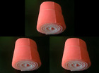 10 Ft Roll Pinky Aquarium Filters 3 Pack