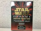 Star Wars Episode I Widevision Trading Cards - Sealed 36-ct Booster Box, 1999