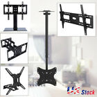 Universal LCD Flat Screen TV Table Top Stand Base Wall Mount Bracket 14 71