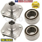 Pair2 New Front PAIR Wheel Hub  Bearing Set Toyota Tercel 91 99 Paseo 92 97