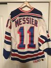 New York Rangers Mark Messier Authentic CCM Gerry Cosby Jersey