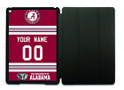 Alabama Crimson Tide Personalized Name & Number iPad/iPadMini Case w/Smart Cover