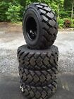 4 Galaxy Hulk L5 14 175 Skid Steer Tires Wheels Rims for Case 14X175