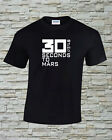 30 Seconds To Mars Printed T Shirt Size Print and Color Choice