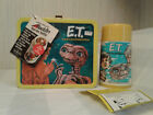 Vintage 1982 Unused NEAR MINT ET Metal Lunch Box  Thermos w Tag