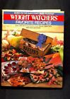 WEIGHT WATCHERS FAVORITE RECIPES COOKBOOK 1986 HARD COVERED