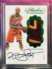 2016-17 NBA Flawless Richard Jefferson Emerald Auto 3 COLOR Patch #3 5