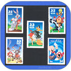 LOONEY TUNES Complete Set of MINT Single Stamps 3137 3204 3306 3391 3534