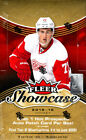 (3) 2015 16 Upper Deck Fleer Showcase Hockey Factory Sealed Hobby Box 3 Box Lot