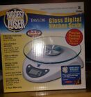 The Biggest Loser Glass Digital Kitchen Scale for Precise Portion Control w 66
