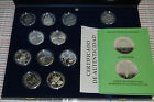 Series 5 IBERO-AMERICAN V 2003 Nautical 10 Silver Coins + 1 Silber Medal VERY