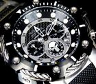 Invicta Marvel Punisher Bolt 51mm Steel Limited Edition Black Chronograph Watch