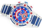Invicta Marvel Edition Captain America Bolt 51mm Steel Chronograph Watch limited
