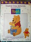 Winnie the Pooh counted cross stitch kit Pooh and the Hunny Jar #34001