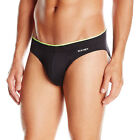2(X)IST Men's Sliq Micro Brief, Black, Medium