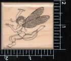 Mostly Animals Wood Mounted Rubber Stamp Kylie fairy