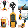 Digital LCD Anemometer Handheld Wind Speed Meter Air velocity Tester Thermometer