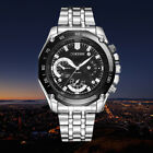 Luxury Military Sport Mens Watch Stainless Steel Band Quartz Wrist Watch Cheap