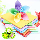 Sheets DIY Craft Origami Paper Square Folding Double Sided Coloured Star Papers