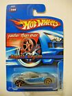Hot Wheels 2006 144 Faster Than Ever Bugatti Veyron Silver Blue FTE