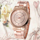 Fashion Womens Watch Stainless Steel Band Quartz Sport Wrist watch Gift Cheap