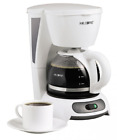 Mr Coffee Simple Brew 4 Cup Switch Coffee Maker Pot Small Little White Home TF4