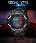 Hot  LED Multifunction Military Men's Sports Watch LED Digital Wrist Watch Cheap