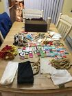 Vintage Sewing Lot In Box Free Ship