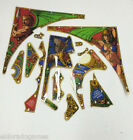 Paragon Bally Pinball Playfield Plastic Part Parts #1820 Not A Full Set USED