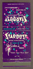 1970s Stardust Hotel And Casino Las Vegas Nevada Matchbook Now Demolished