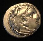 ANCIENT GREEK SILVER COIN OF ALEXANDER THE GREAT SARDES MINT RARE